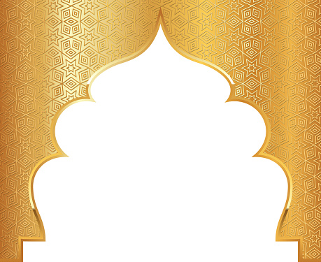 islamic pattern arch