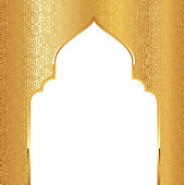 islamic pattern wall entrance doorway design