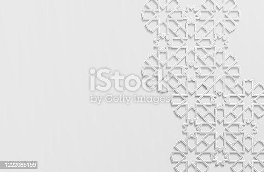 istock Islamic Pattern 1222085159