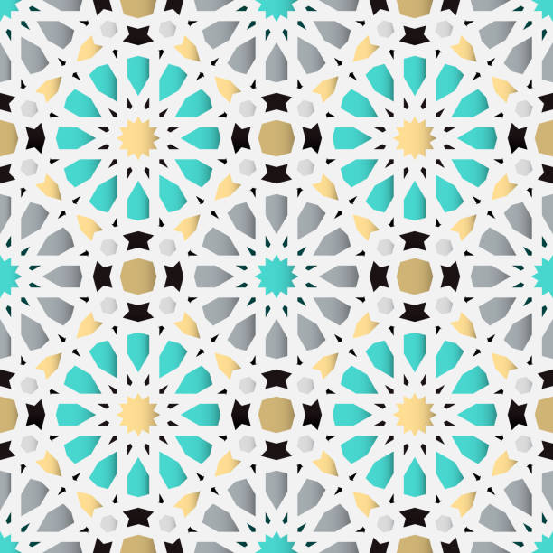 islamic seamless background. traditional geometric arabic pattern. vector illustration. - lebanon stock illustrations