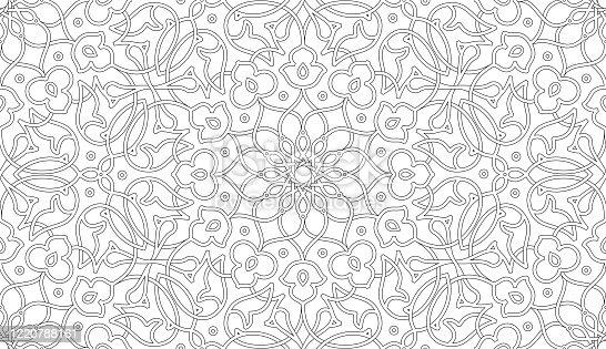 istock Islamic seamless vector 1220788161