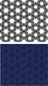 Islamic star seamless pattern