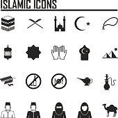 Islamic website icons