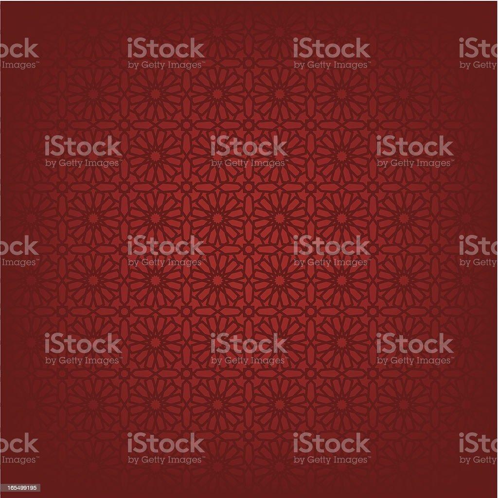 Islamic window pattern background vector art illustration