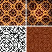 Islamic wooden tile
