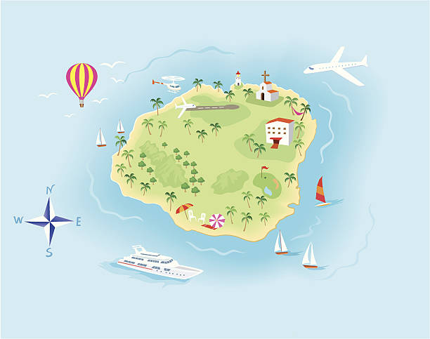 Island Clip Art, Vector Images & Illustrations - iStock