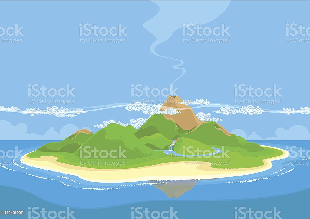 royalty free island clip art vector images illustrations istock rh istockphoto com island clipart png island clipart black and white