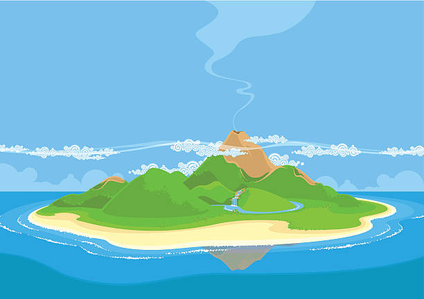 Royalty Free Island Clip Art, Vector Images ...