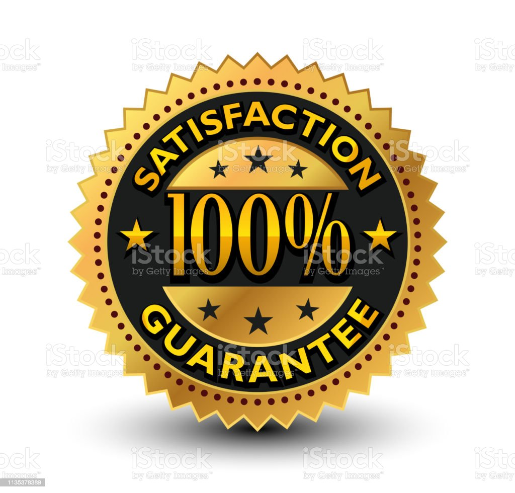 This 100% satisfaction guarantee badge will convey/support that, your...
