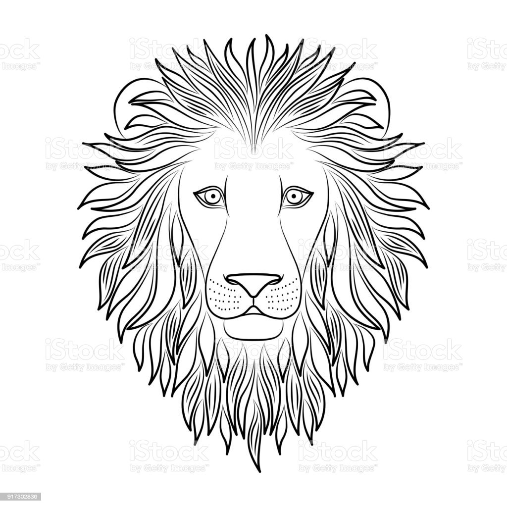 Isolated Black Outline Head Of Lion On White Background Line Cartoon King Of Animals Portrait Curve Lines Page Of Coloring Book Stock Illustration Download Image Now Istock Blend 3ds dae fbx obj. isolated black outline head of lion on white background line cartoon king of animals portrait curve lines page of coloring book stock illustration download image now istock