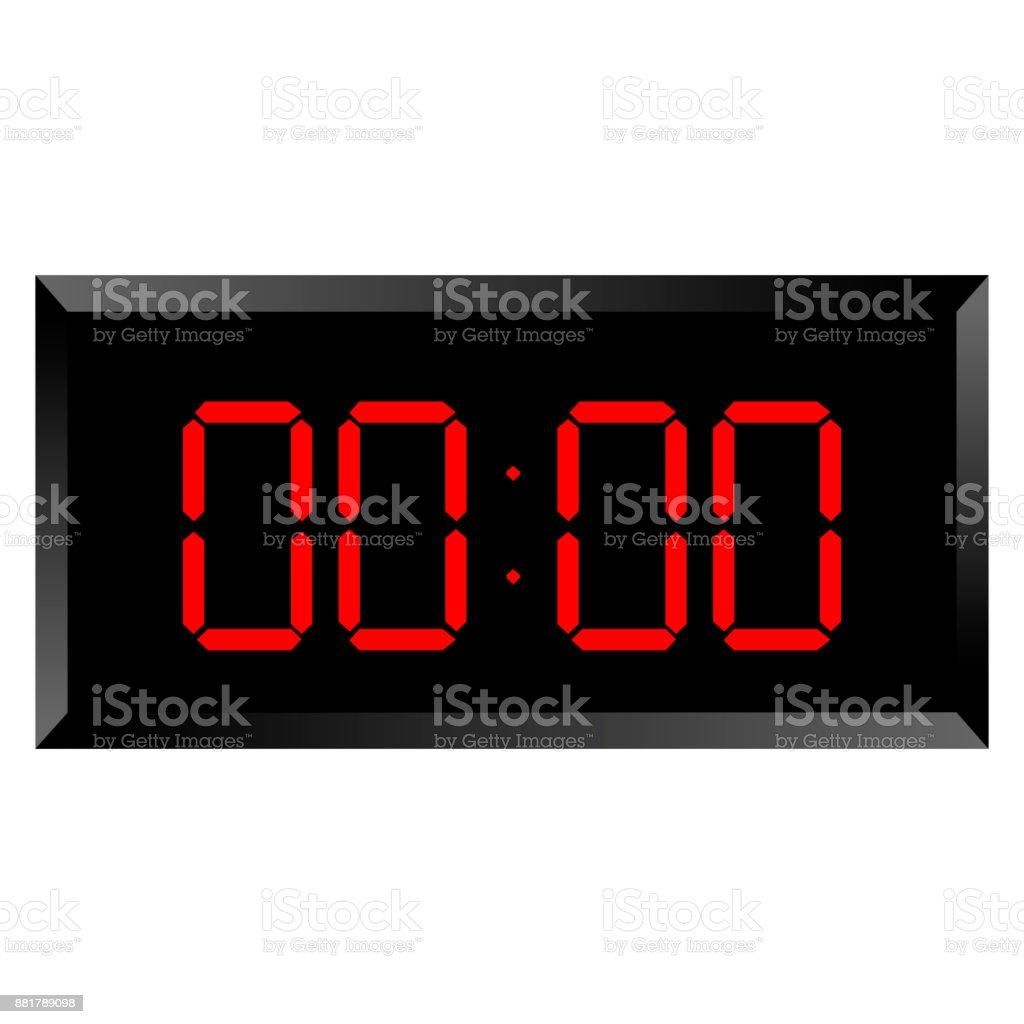 Isolated chronometer icon vector art illustration