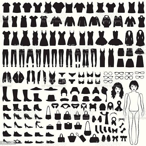 Isolated clothing silhouette vector id494736727?b=1&k=6&m=494736727&s=612x612&h=sxlri4c 6h3g8wb2mu9yr lsrvfalwiqihmw82xhxym=