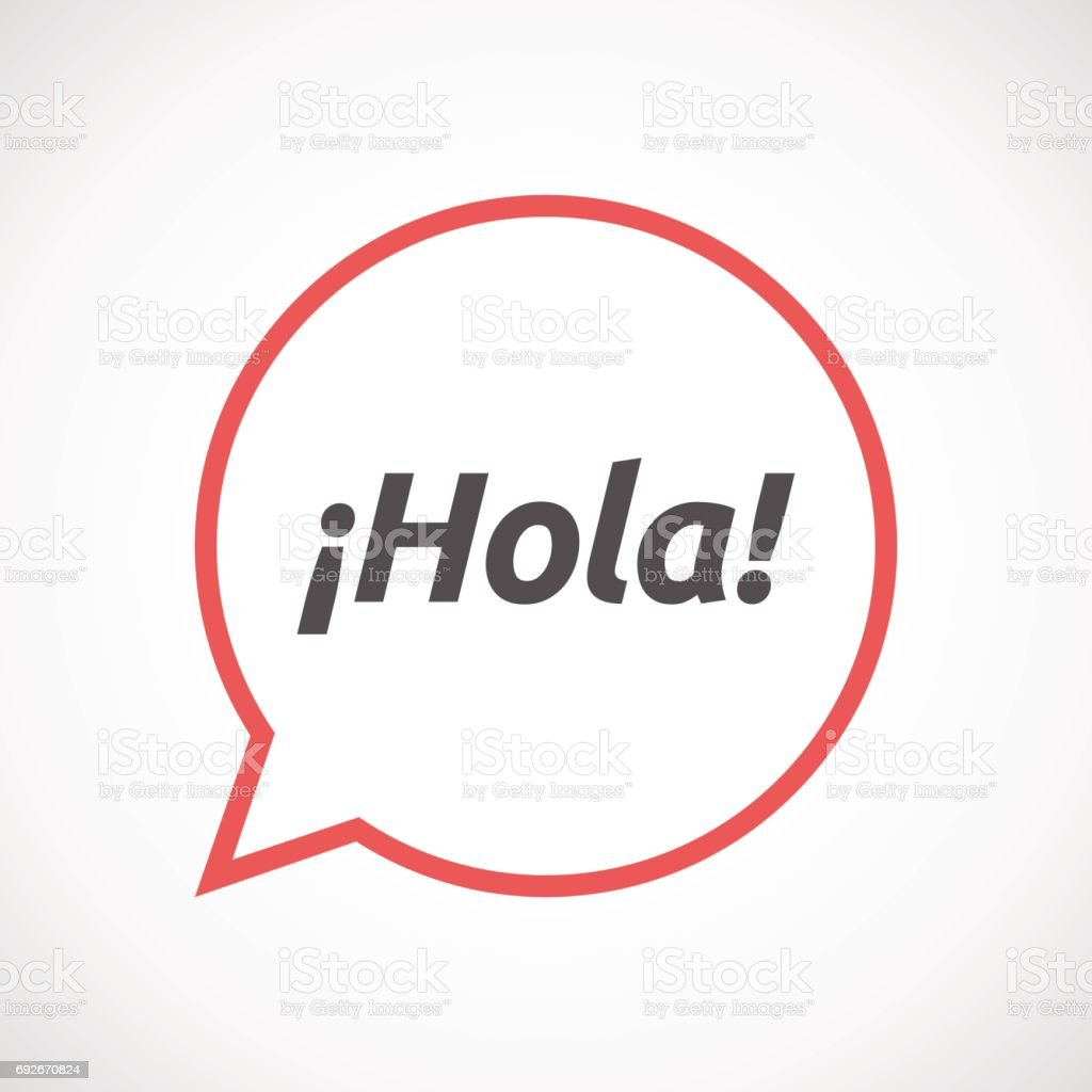 how to say hello in spanish language