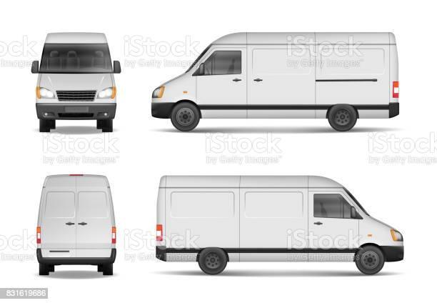 Isolated commercial delivery vehicle set white van vector template vector id831619686?b=1&k=6&m=831619686&s=612x612&h=jiqvhep4clwbchkm8nnabonx9xhysmvlajuxrlx2lwg=