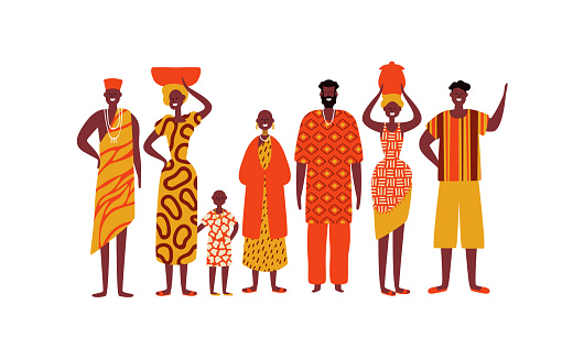Isolated diverse african people group