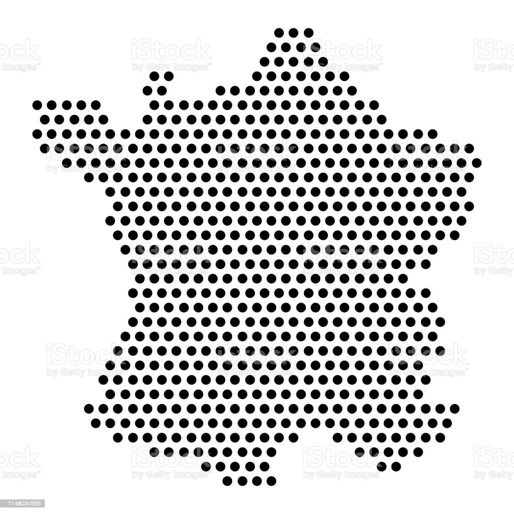Image of: Isolated Dotted Political Map Of France Stock Illustration Download Image Now Istock