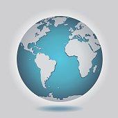 istock Isolated Earth Globe 486397694