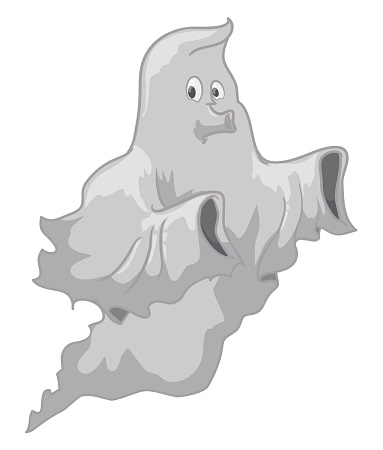 Isolated Ghost Floating and Whistling