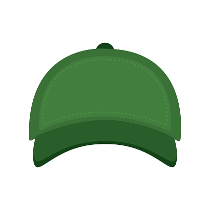 Isolated green cap image