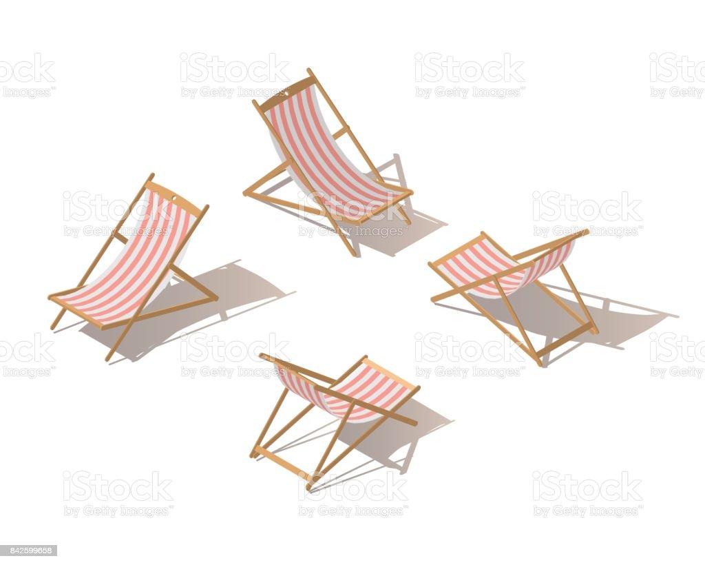 Sonnenstuhl clipart  Sonnenstuhl Freisteller Vektorgrafiken und Illustrationen - iStock