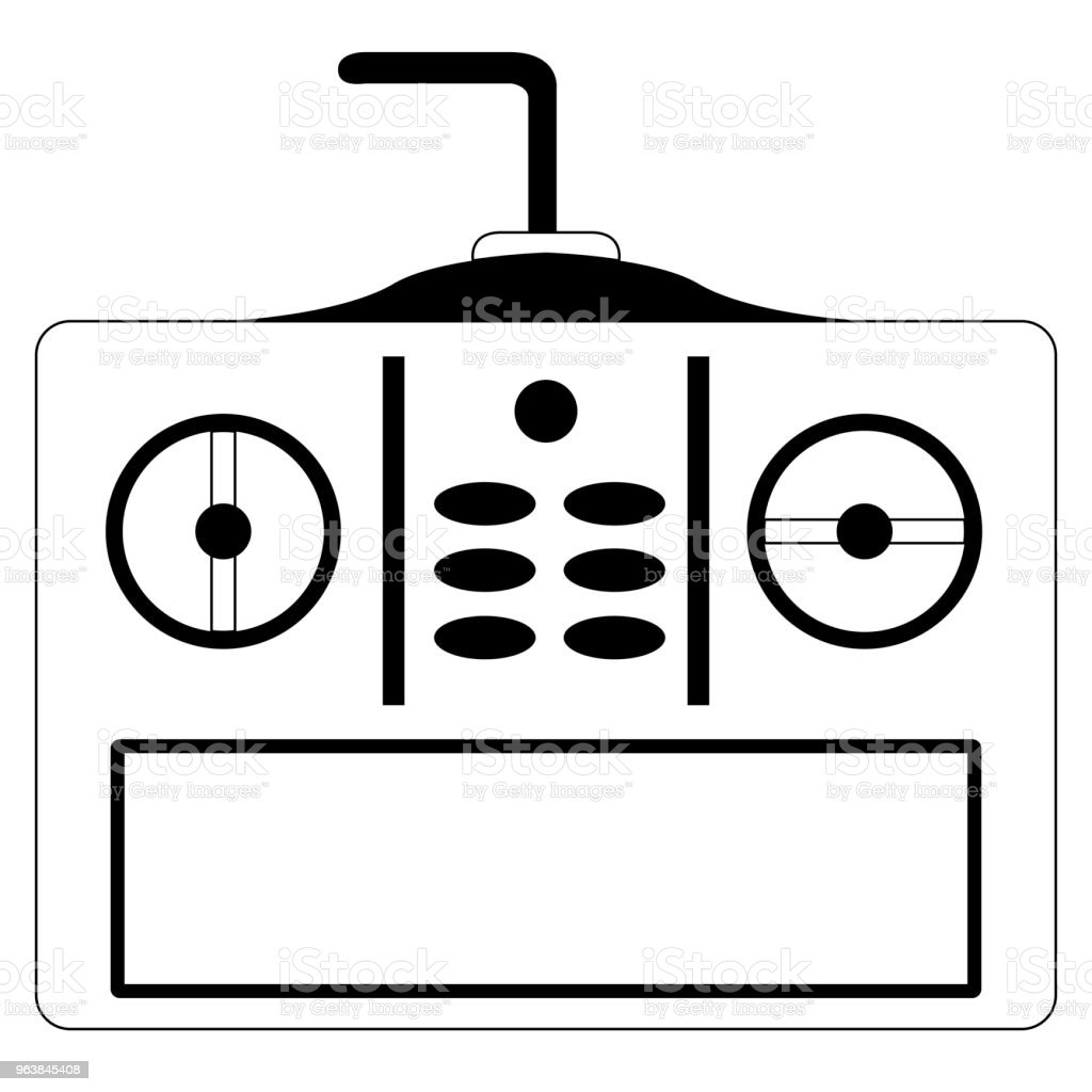 Isolated joystick toy - Royalty-free Arts Culture and Entertainment stock vector