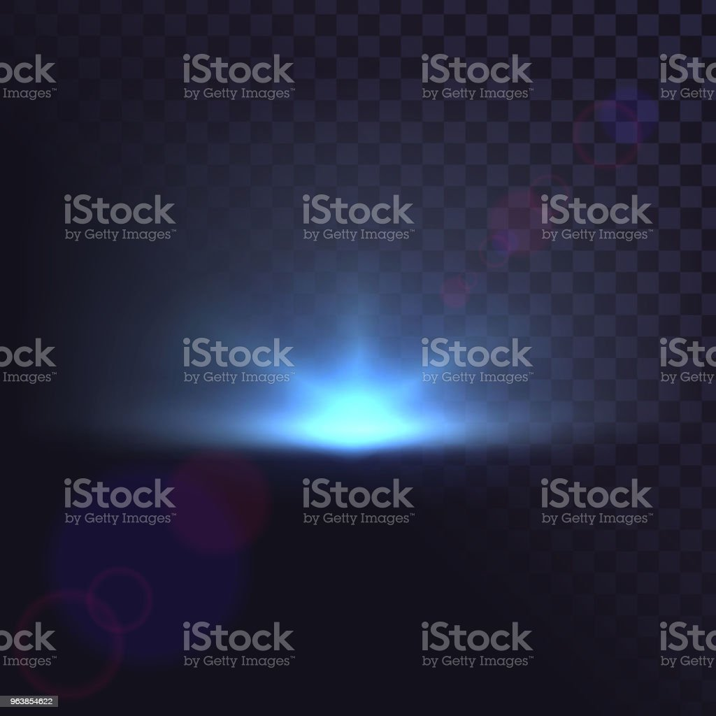 Isolated light source, explosion, glow, star, flash - Royalty-free Abstract stock vector