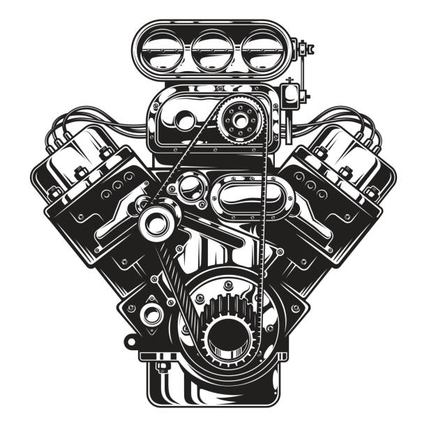 Best Engine Illustrations Royalty Free Vector Graphics Clip Art