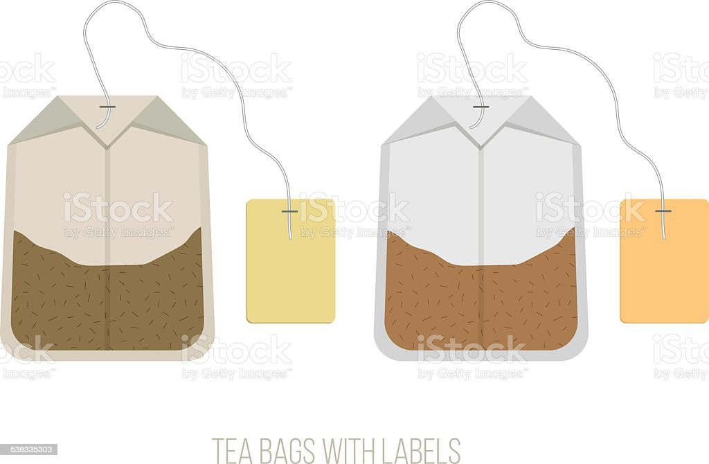 silhouette of tea bag clip art, vector images & illustrations - istock