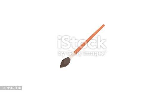 Isolated Paint Brush Icon