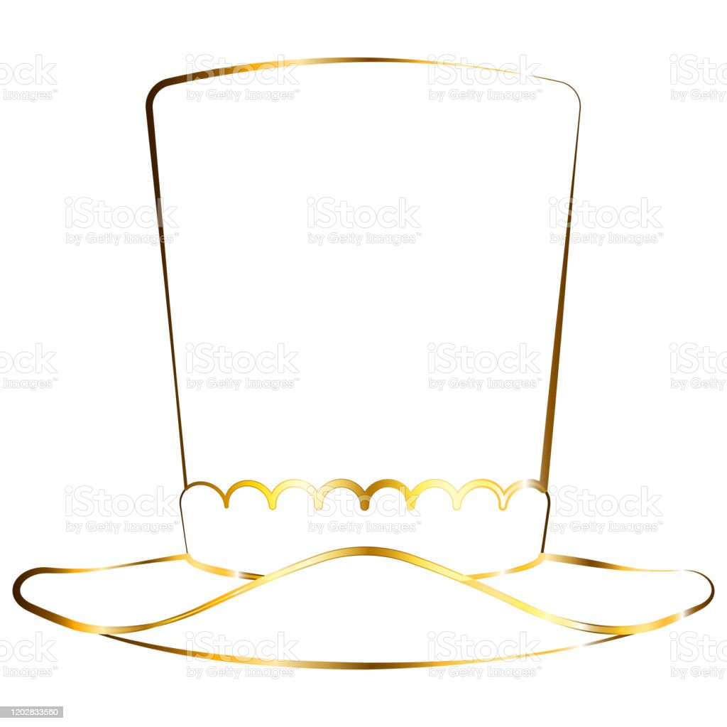 Isolated Party Hat Outline Stock Illustration Download Image Now Istock