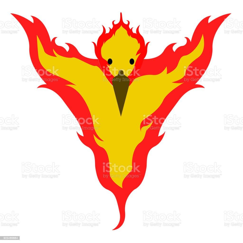 Isolated Phoenix Icon Stock Illustration - Download Image ...