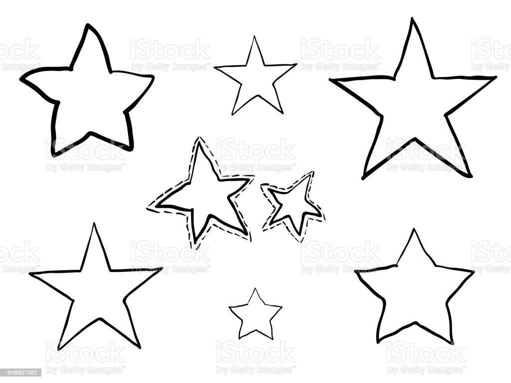 kleurplaten kleurplaat ster