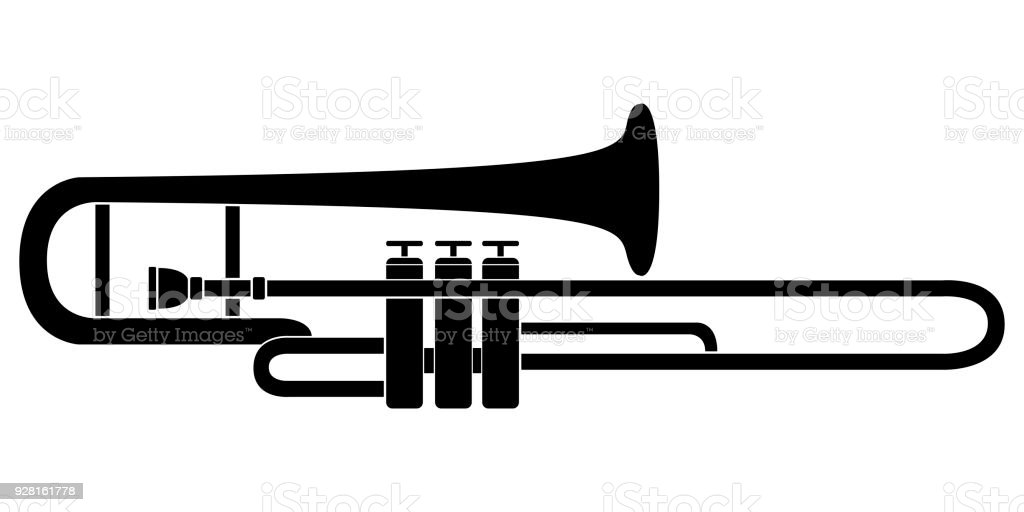 royalty free trombone clipart clip art vector images rh istockphoto com trombone clipart for kids trombone clipart black and white