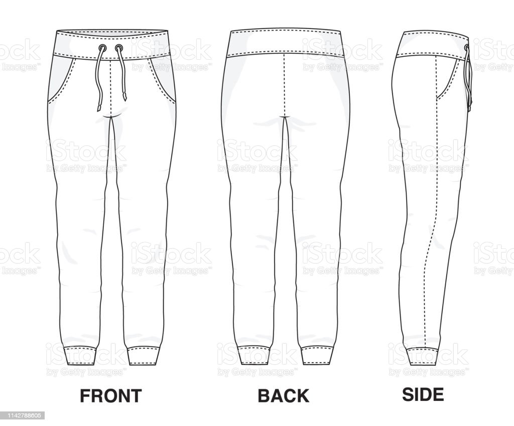 Isolated Trouser Pants Shorts Object Of Clothes And Fashion
