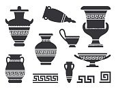 Illustration of a Greek vessels from the classical period