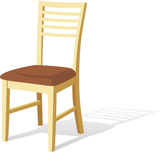 Wooden Chair Clip Art ~ Royalty free chair clip art vector images illustrations