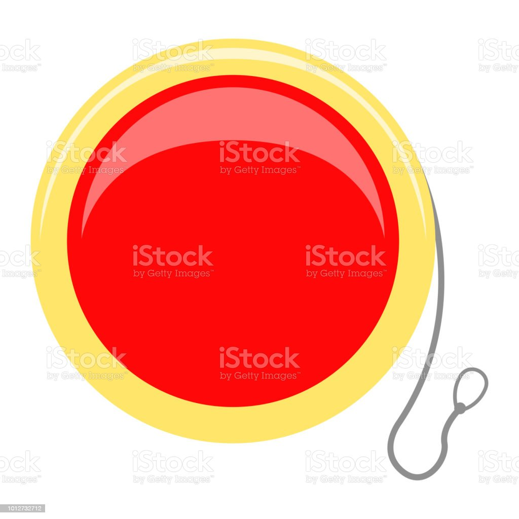 Isolated yo-yo toy icon