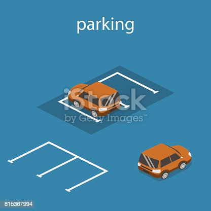 Free Car Parking Lot Clipart and Vector Graphics - Clipart me