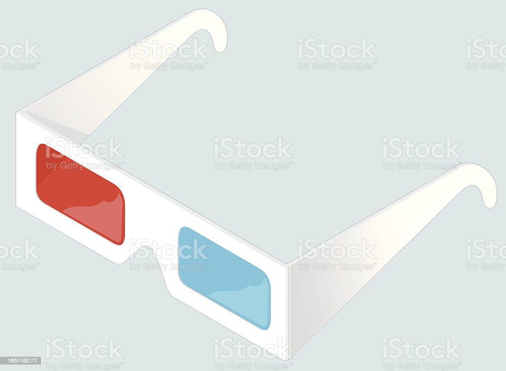 Isometric 3d-Brille – Vektorgrafik