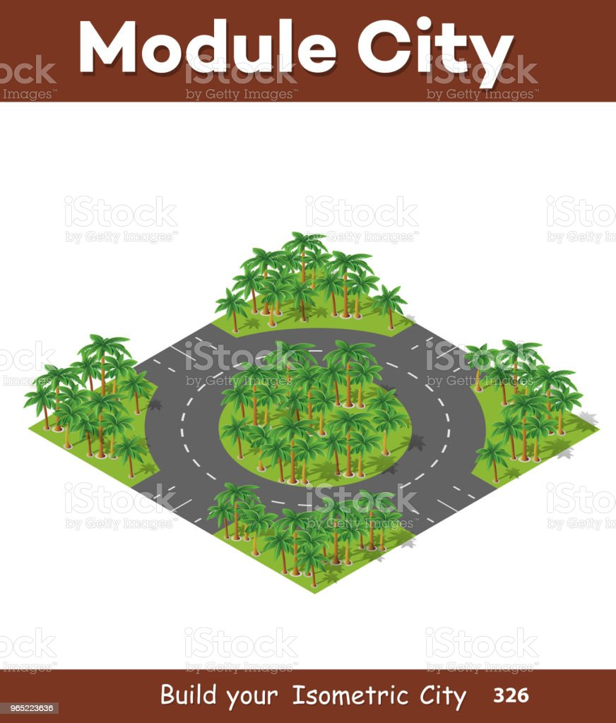 Isometric 3d trees forest royalty-free isometric 3d trees forest stock vector art & more images of abstract
