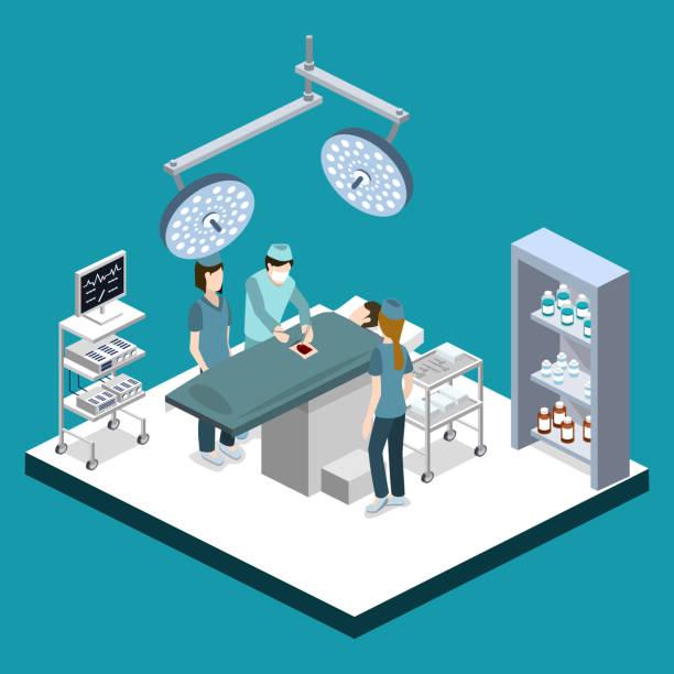 Surgeon stock illustrations