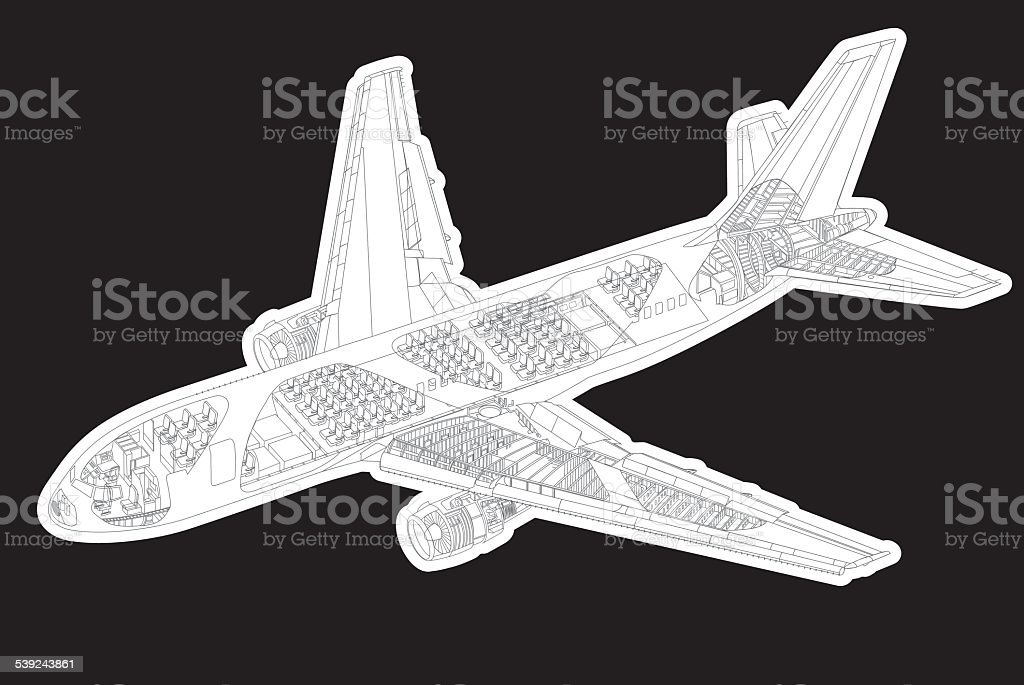 Isométricos de pasajeros y dentro de detalles de la imagen ilustración de isométricos de pasajeros y dentro de detalles de la imagen y más banco de imágenes de aeropuerto libre de derechos