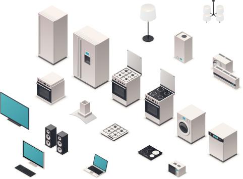 Isometric appliances
