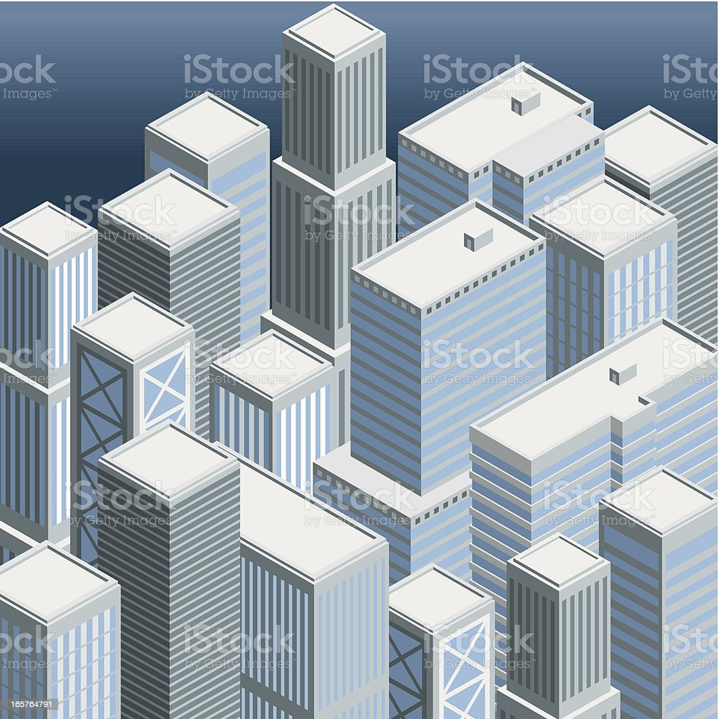 Isometric, Big City royalty-free isometric big city stock vector art & more images of architecture