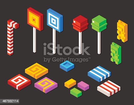 Isometric candy