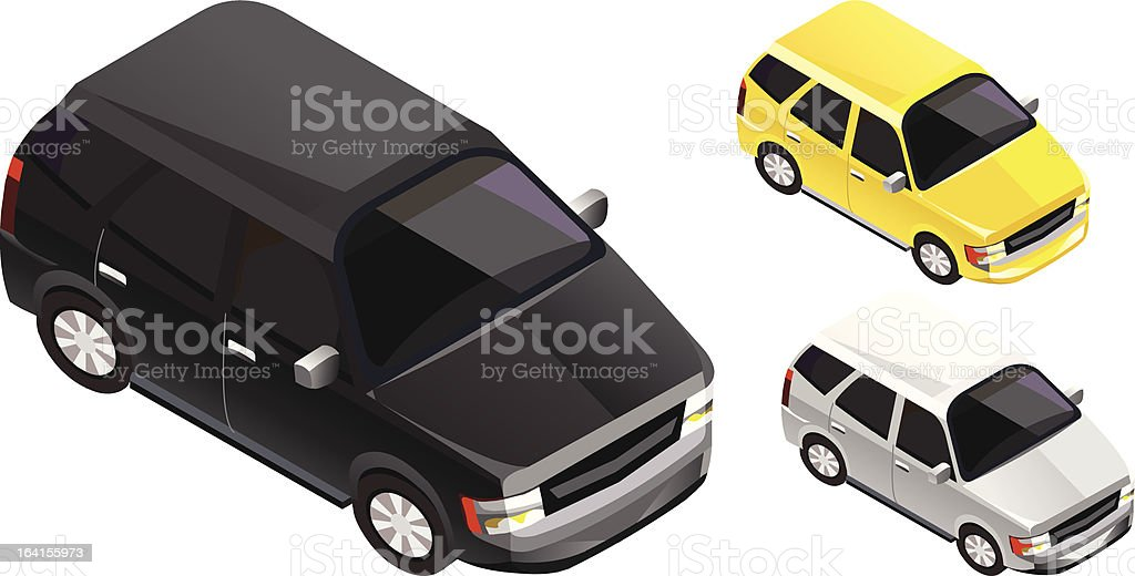 Isometric cars royalty-free isometric cars stock vector art & more images of black color