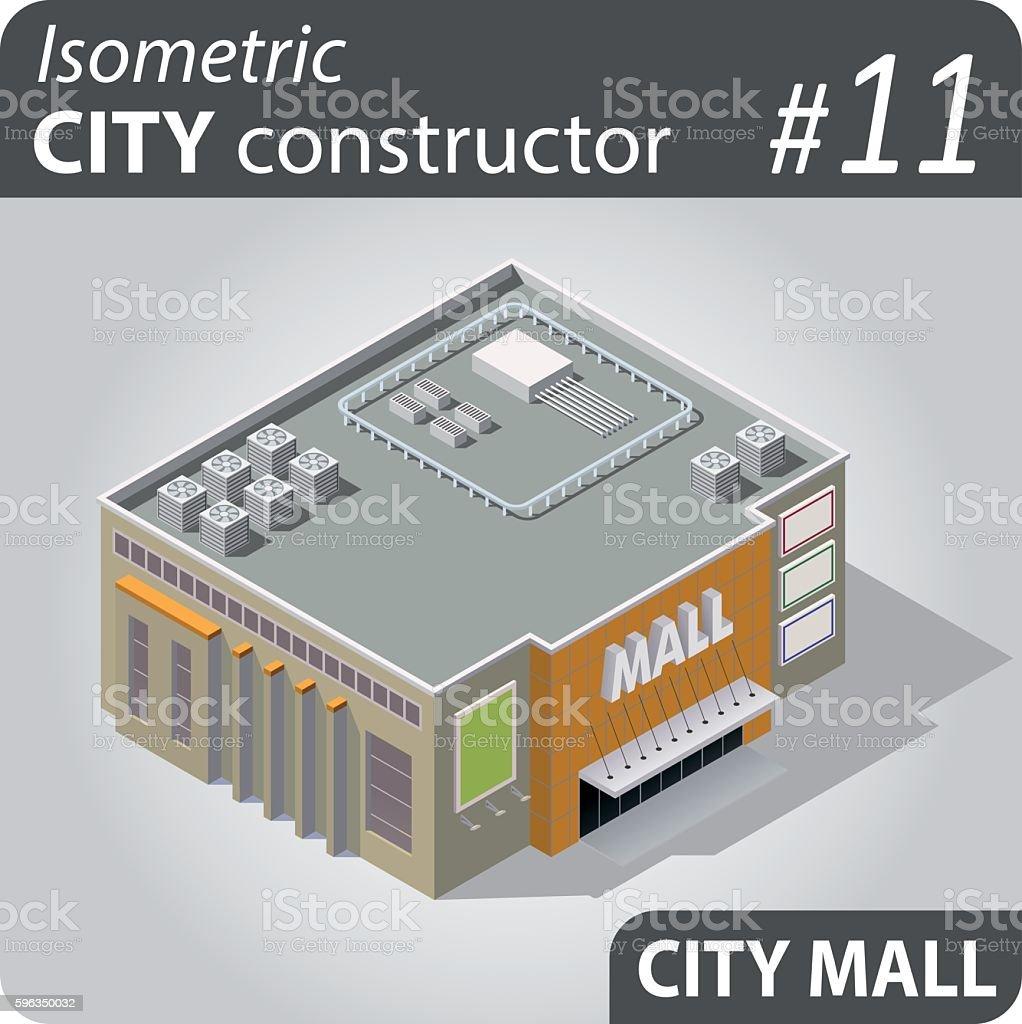 Isometric city constructor - 11 Lizenzfreies isometric city constructor 11 stock vektor art und mehr bilder von architektur