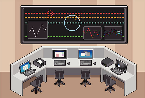 Operator Control Levers Clip Art : Royalty free control center clip art vector images