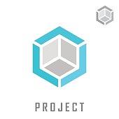 Isometric cube construction