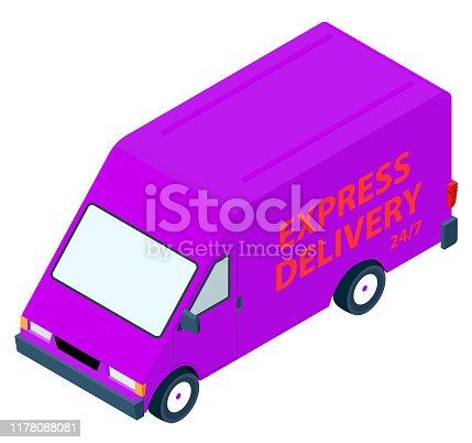 Isometric truck transportation